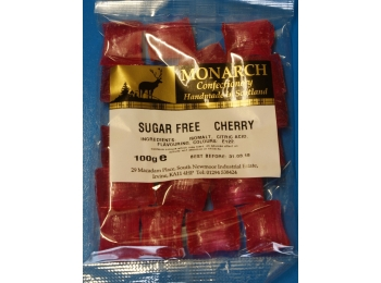 Cherry Monarch Sugar Free Boiled Sweets 100g