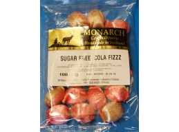 Cola Fizz Monarch Sugar Free Boiled Sweets 100g