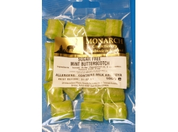 Mint Butterscotch Monarch Sugar Free Boiled Sweets 100g