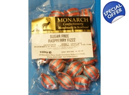 Raspberry Fizz Monarch Sugar Free Boiled Sweets ..