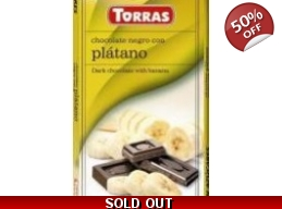 Dark Chocolate With Banana 75g No Added Sugar Gl..