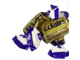 Eclairs Sugar Free Toffees Wrapped Thornes Sweets 100g