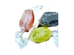 Fruit Drops Boiled Sugar Free Wrapped Thornes Sweets 100g