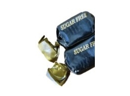 Liquorice Toffees Sugar Free Wrapped Thornes Sweets 100g