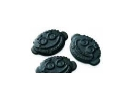 Jelly Faces Medium Soft Swedish Sugar Free Liquorice 100g