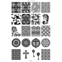 Dixie Plate DP-09 Gothic/Baroque