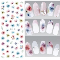 Floral Watercolour Decal DS-310