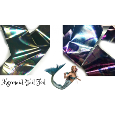 Mermaid Tail Foil - 2 colours