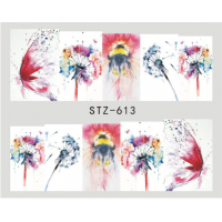 Butterfly Splash Water Decal