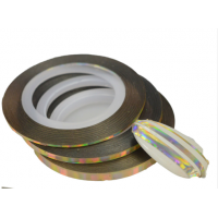 ✭Champagne HOLO Striping Tape - 3..