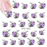 Flower Water Decal