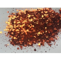 Bonfire Hex Glitter