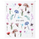Veil Floral Water Decal