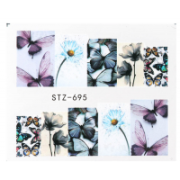 Butterfly Veil Water Decal