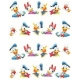 *Disney Water Decal* - DONALD & DAISY