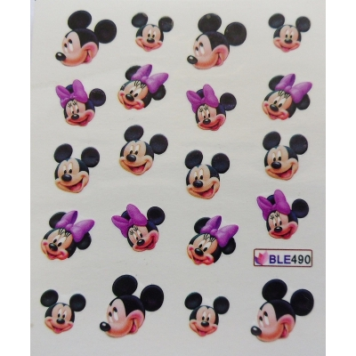 *Disney Water Decal* - MICKEY & MINNIE MOUSE