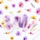 Watercolour Gradient Flower STICKERS