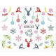 Christmas Winter Water Decal