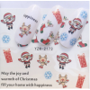 Christmas Water Decal