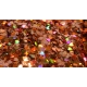 Heart Glitter Mix - Holographic Amber