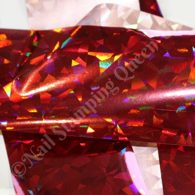 Red Diamond Foil