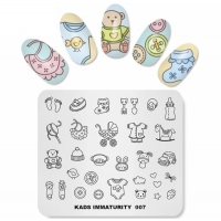 New Baby Theme Stamping Plate