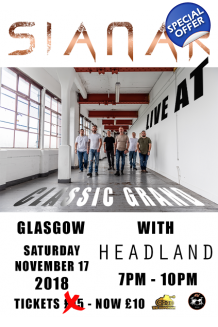 Tickets - Sianar and Headland at Classic Grand