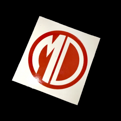 MD Logo Stickers