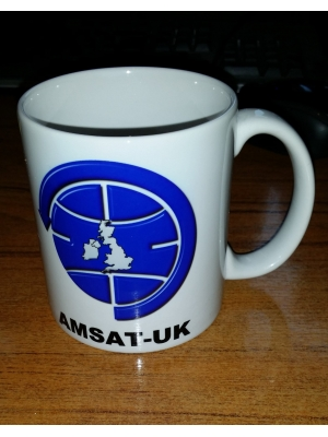 Mug with AMSAT-UK Logo