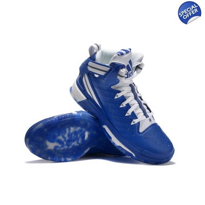 the latest 11393 f75f1 ... new appearance 91d81 54552 Adidas D Rose 6 Boost Blue ...