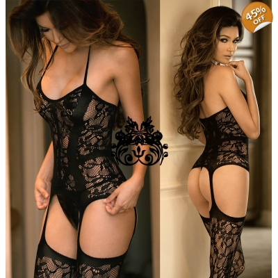 Bodystocking ROYAL s in..