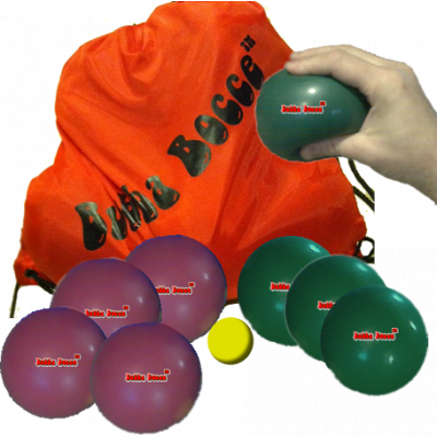 Bubba Bocce Indoor Soft Bocce Ball Set title=