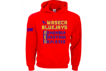 Waseca Bluejays R.E.D. Hooded Sweatshirt