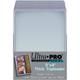 Toploads 3x4 55 Pt Thick - Pkg of 25