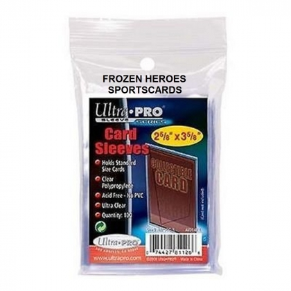 ULTRA PRO CARD SLEEVES 100 PER PKG