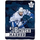 NHL STAR PLAYER THROW BLANKET MITCH MA..