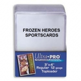 ULTRA PRO TOPLOADS 3x4 REGULAR PKG of 25