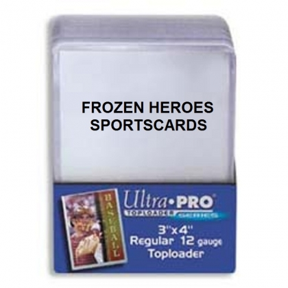 ULTRA PRO TOPLOADS 3x4 REGULAR CASE 40 PKGS of 25