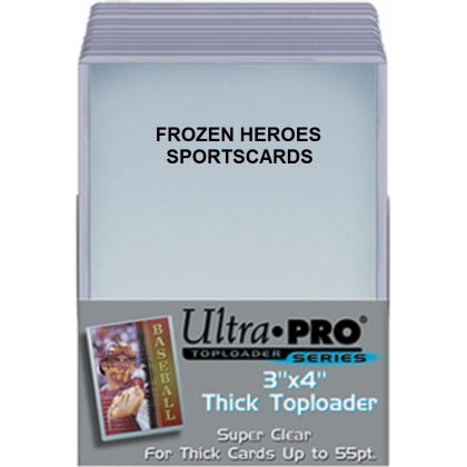 ULTRA PRO TOPLOADS 3x4 55PT THICK PKG of 25