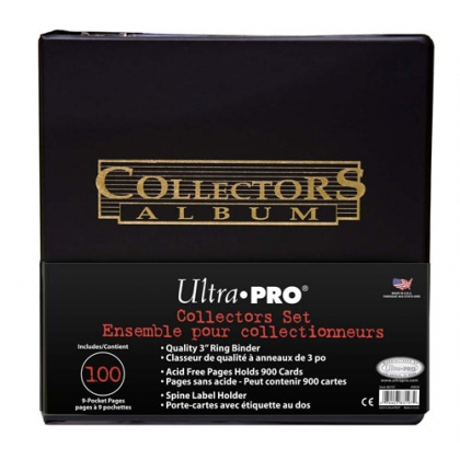ULTRA PRO ALBUM 3'' WITH 100 - 9 POCKET PAGES