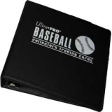 ULTRA PRO 3''BINDER BASEBALL *BLACK, B..