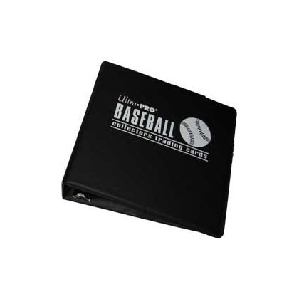 ULTRA PRO 3''BINDER BASEBALL *BLACK, BLUE OR TOP DOG*