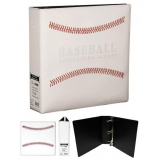 ULTRA PRO 3''BINDER BASEBALL STITCHED