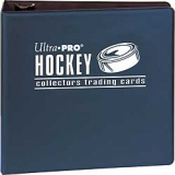 ULTRA PRO 3''BINDER HOCKEY *BLACK, BLU..