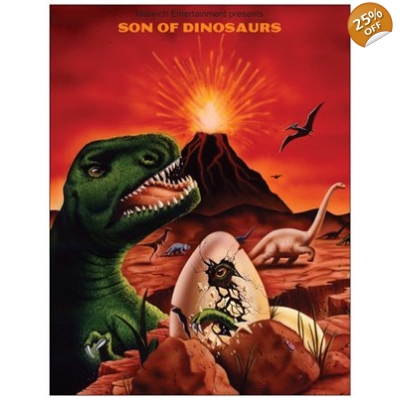 """Son of Dinosaurs"" Anniversary Magnet Set"