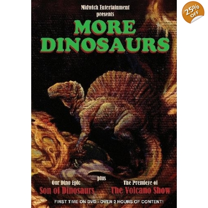 More Dinosaurs DVD
