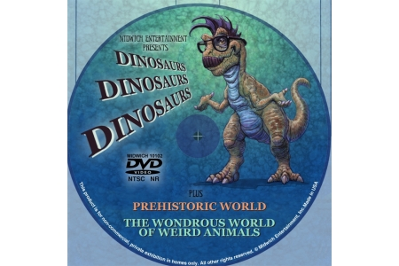 """More Dinosaurs"" and ""Dinosaurs, Dinosaurs, Dinosaurs"" DVDs"