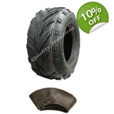 18x9.50-8 ATV tyre & tube, road legal