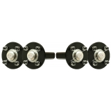 4 - Hub & stub axles 4 stud 4