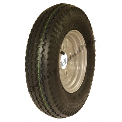 4.80/4.00 - 8 road legal high speed wheels 100 PCD tyre & rim